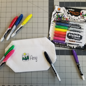 Fabric Marker- Rainbow Pack