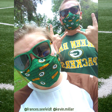 Limited Edition Face Masks- Packer Pride
