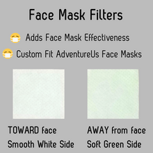 Load image into Gallery viewer, Face Mask Filters provide added filtration effectiveness.