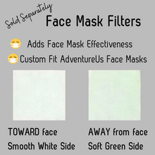 Load image into Gallery viewer, Face Mask- Large- Various Prints