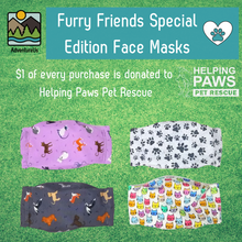 Load image into Gallery viewer, Face Masks- Furry Friends Special Edition