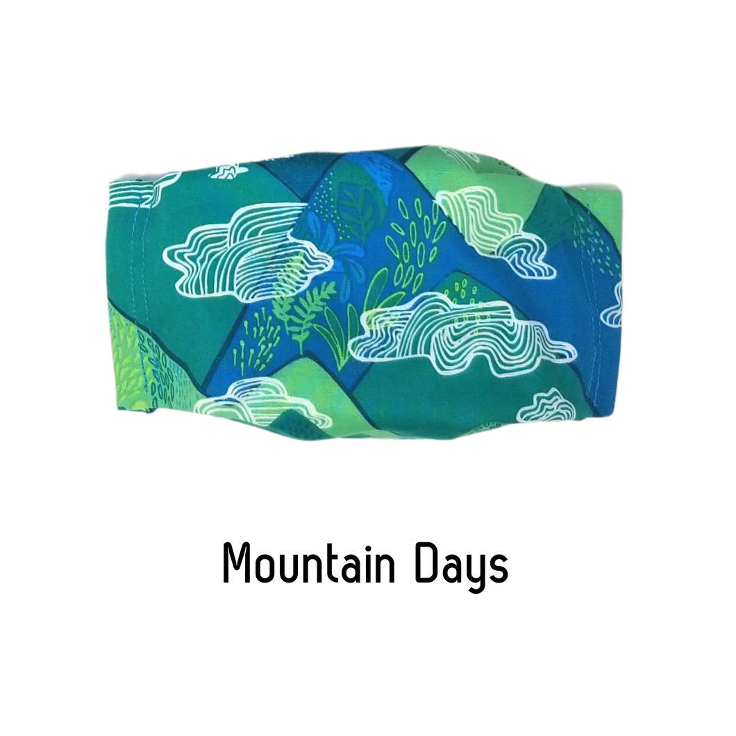 Mountain Days Face Mask