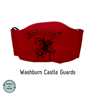 Face Masks-  Special Edition- Washburn Castle Guards
