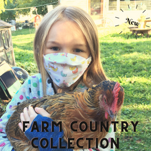 Load image into Gallery viewer, Farm Country Face Mask Collection