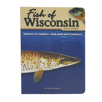 Essential for every tackle box, beach bag, RV and cabin. This guide makes fish identification easy and enjoyable. It's packed with lots of information, including: 76 species found in Wisconsin Locating fishing hotspots State & North American records Fascinating facts & tidbits