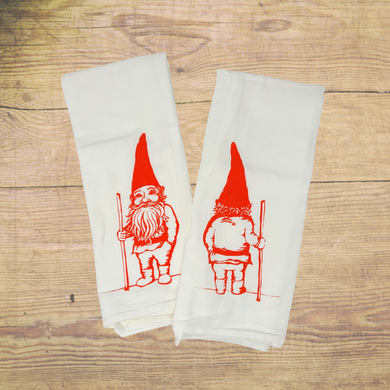 Beautifully Hand Screen Printed Tea Towels