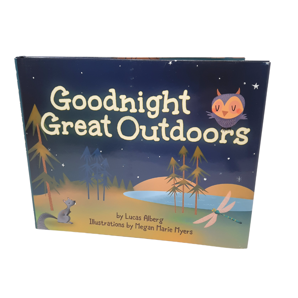 A perfect bedtime story whether you're under a roof or under the stars. This gentle story celebrates the wonders of the great outdoors by saying goodnight to nature.