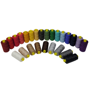 Gutermann Mara 100 polyester thread is perfect for repairs, mending, patching, activewear garments and topstitching.