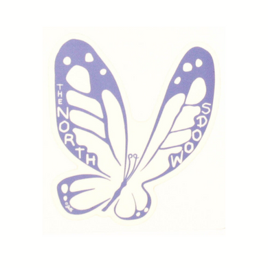 Butterfly Northwoods Sticker