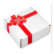 Load image into Gallery viewer, Give your gift in style with this easy holiday gift box.