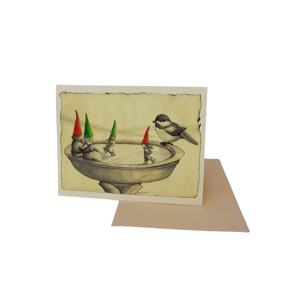 Send this beautifully designed greeting card with a handwritten note from you to show someone you're thinking of them.
