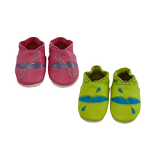 Load image into Gallery viewer, Wee-Kicks are handcrafted toddler shoes made from quality leather. These kayak shoes are perfect for any lake lover and adventurer in your life!
