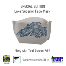 Load image into Gallery viewer, AdventureUs' Unique Face Mask sized for All Day Comfort and All Ages