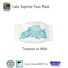 Load image into Gallery viewer, Lake Superior Face Mask- Special Artist Edition