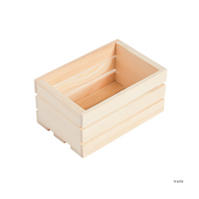Load image into Gallery viewer, Spruce up your gift with these fun mini crates