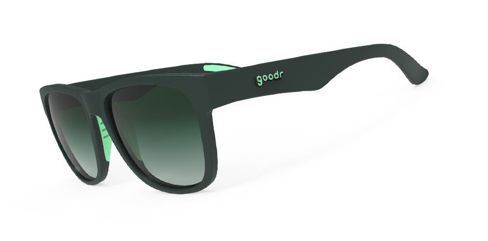 Goodr Sunglasses- Wide- Mint Julep Electroshocks