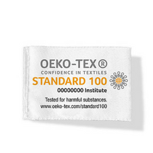 Load image into Gallery viewer, Kona Cotton is tested for harmful substances & certified to meet OEKO-TEX Standard 100
