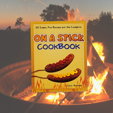 Load image into Gallery viewer, Mix up the fireside fun with this creative outdoor cookbook!