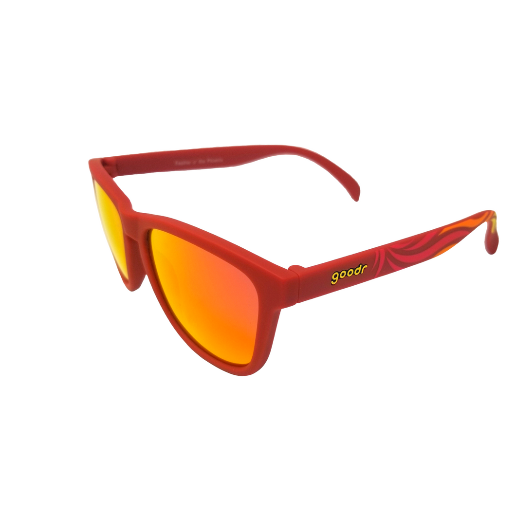 Goodr Sunglasses- Classic- Feather o' the Phoenix