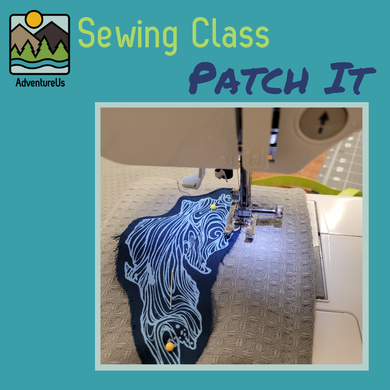 Inspired by our Eco-Sewing Values, join us for a fun night of patching.  We'll cover how to machine patch a garment or add flair to something boring.
