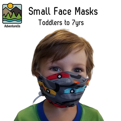 Face Mask - Small- Various Prints