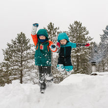 Load image into Gallery viewer, Snow Sleeves keep wrists warm and dry so everyone can have more fun in the snow.