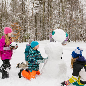 Snow Sleeves will keep you building snowmen till it's time for hot chocolate.