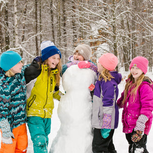 Snow Sleeves keep wrists warm and dry so everyone can have more fun in the snow.
