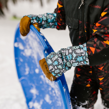 Load image into Gallery viewer, Snow Sleeve Wrist Gaiters keep wrists warm and dry so everyone can have more fun in the snow.