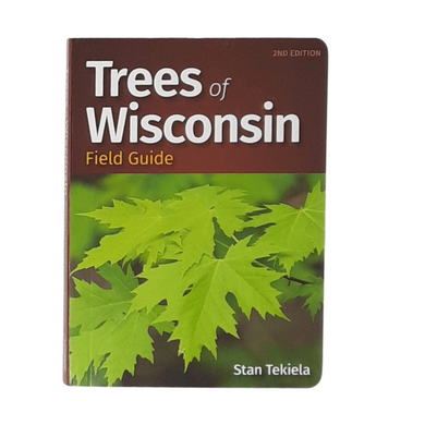 Tree identification can be simple with this handy field guide to Wisconsin trees. It's packed with lots of information, including: 101 species found in Wisconsin Thumb tabs help you identify trees by leaf shape Professional photos Naturalist facts & tidbits