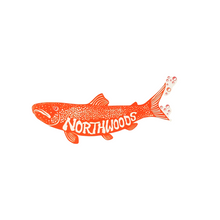 Load image into Gallery viewer, Trout Northwoods Sticker