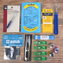 Load image into Gallery viewer, This awesome kit has everything you need to get started in the empowering world of repair and mending.