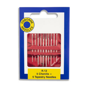 The perfect large eye darning needle variety pack to get you mending.