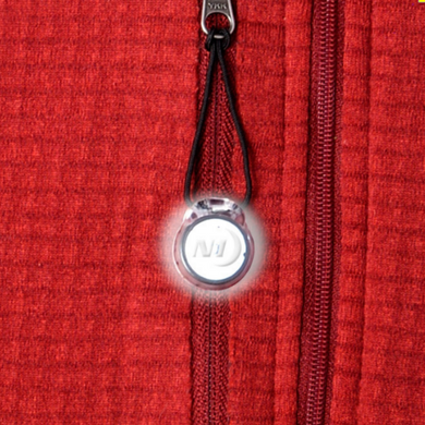 Add Safety & style to your outdoor wear with light up Zipper Pulls.