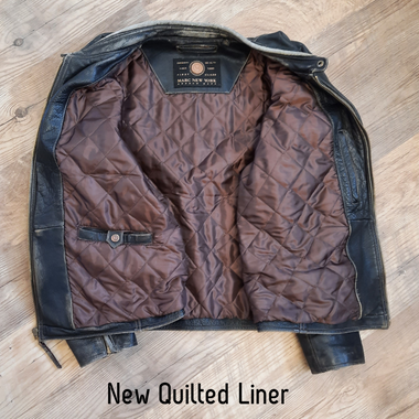 Leather jacket liner replacement