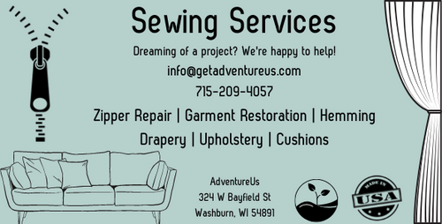Sewing Services by AdventureUs