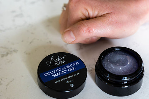 Where can I get Colloidal Silver Gel in the UK
