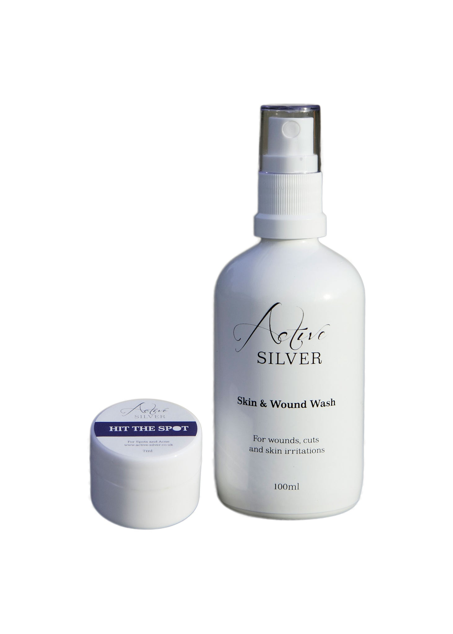 NEW Skin Care and Acne Set – with Colloidal Silver - Active Silver