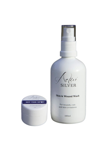NEW Skin Care and Acne Set – with Colloidal Silver