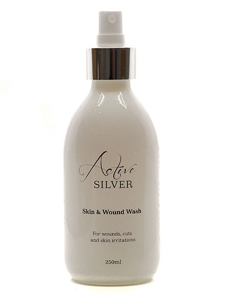 Skin & Wound Wash with spray - Active Silver
