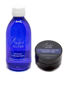 Colloidal Silver Skincare Set - Active Silver