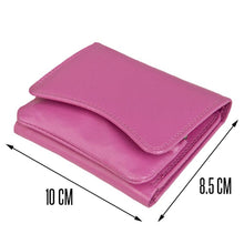 Load image into Gallery viewer, Prime Hide Compact Curvy Leather Purse