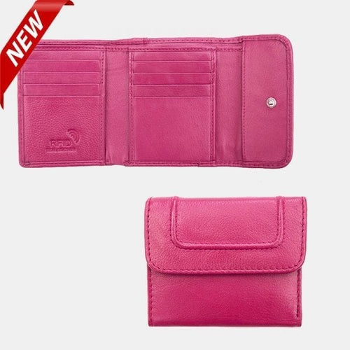 Prime Hide Leather Compact Purse 6000 - Pretty Swish Accessories Ripley Derbyshire