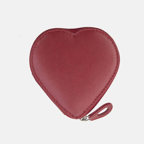 Prime Hide Leather Heart Coin Purse