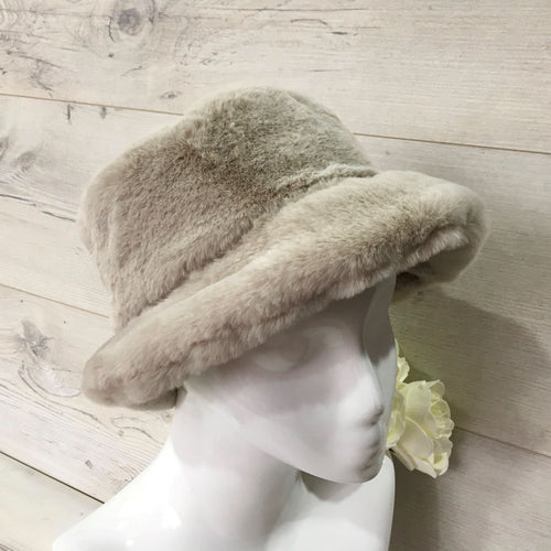 Teddy Furry Winter Hat - choice of colours