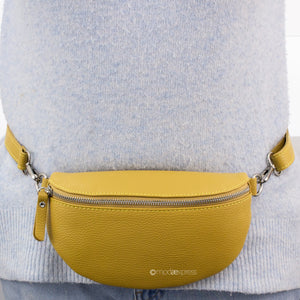 Italian Leather Bum Bag/ Cross Body