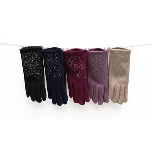 Sparkles & Stars Gloves - Choice of Colours - Pretty Swish Accessories Ripley Derbyshire