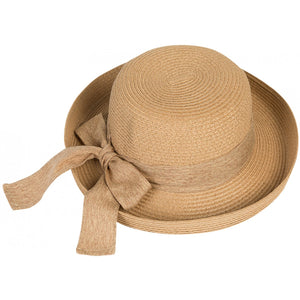 Camel Vintage-Style Sun Hat - Pretty Swish Accessories Ripley Derbyshire