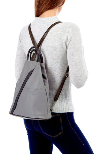 Florence Italian Leather Rucksack - Pretty Swish Accessories Ripley Derbyshire