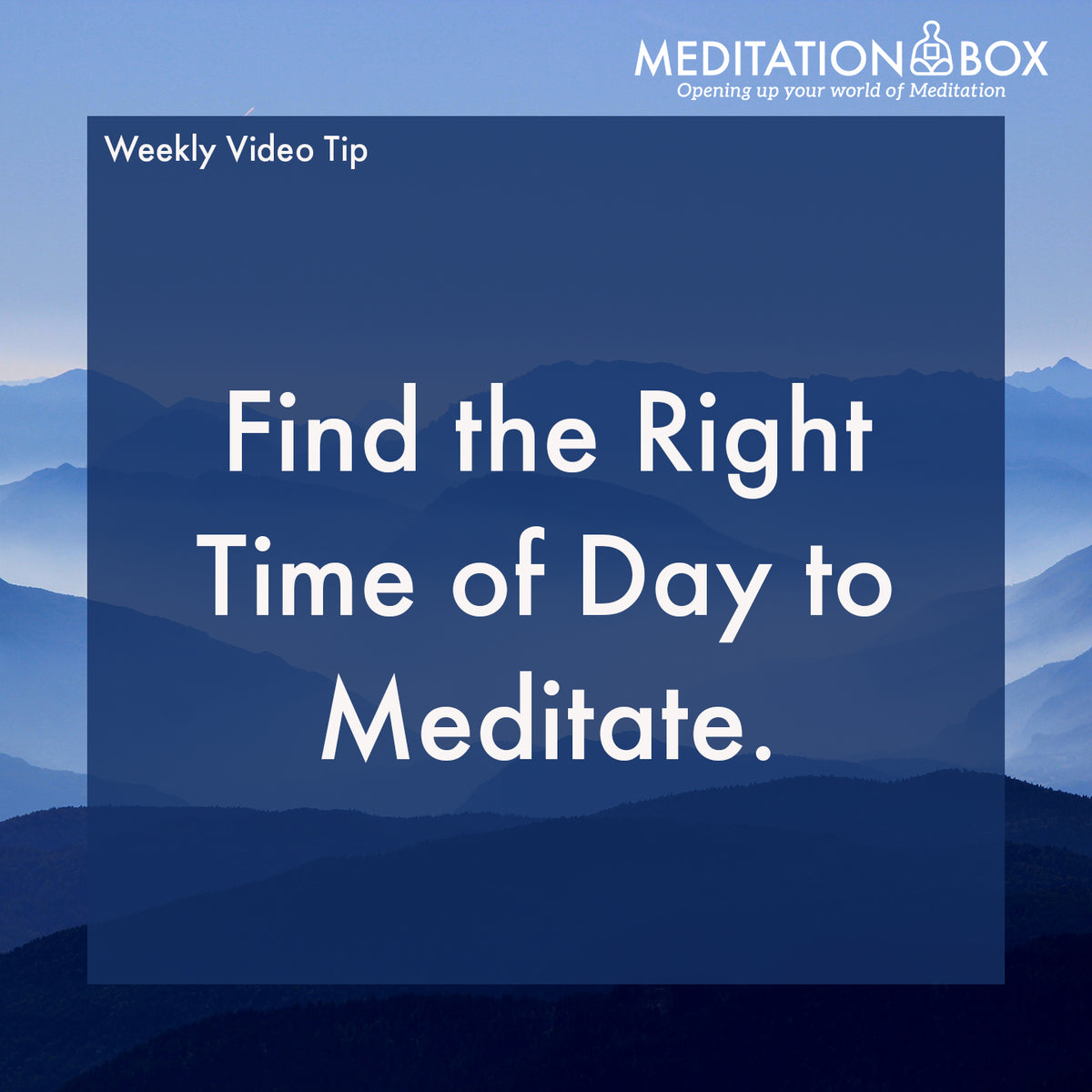 Find the Right Time of Day to Meditate - Here's How